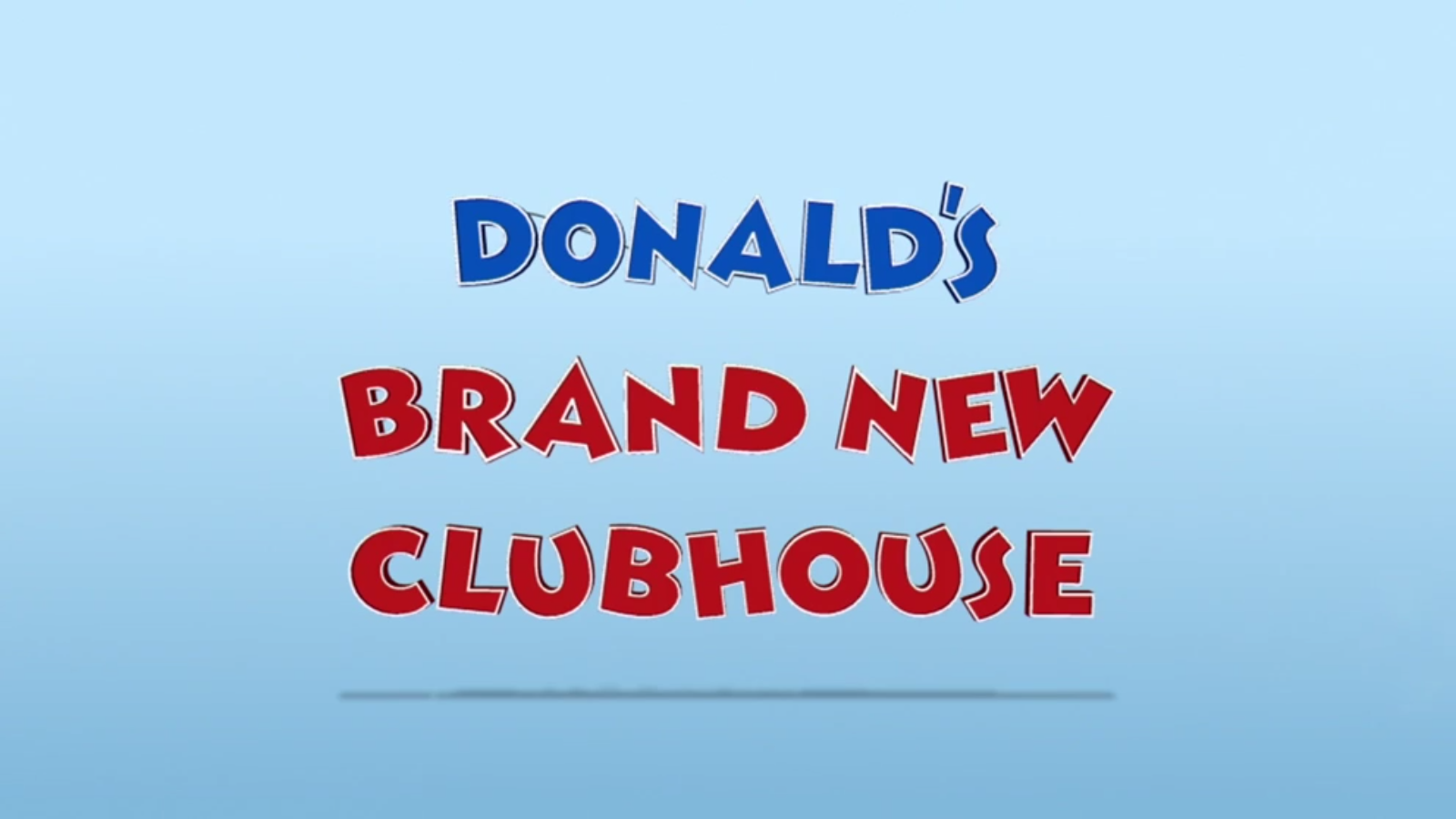 Donald's Brand New Clubhouse
