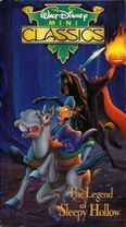 Legend of Sleepy Hollow VHS cover 1