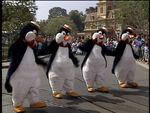 PenguinWaitersinDisneylandFun