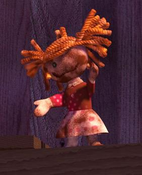 La Muñeca de Trapo Quemado