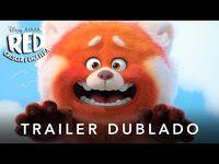 Red - Crescer é uma Fera - Teaser Trailer Oficial Dublado