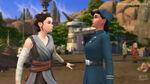 The Sims 4 Star Wars Journey to Batuu - Rey Mind Trick