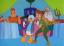 Donald intenta volar