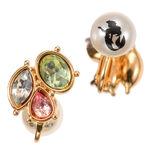 Jeweled Ariel Reversible Jewel earring (single)