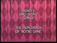 The Hunchback of Notre Dame UK closing title