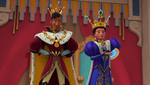 King Esteban and Queen Doña