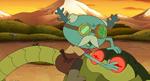 Loggle attacking robots