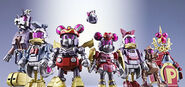 Minnie and Friends as Super Robots