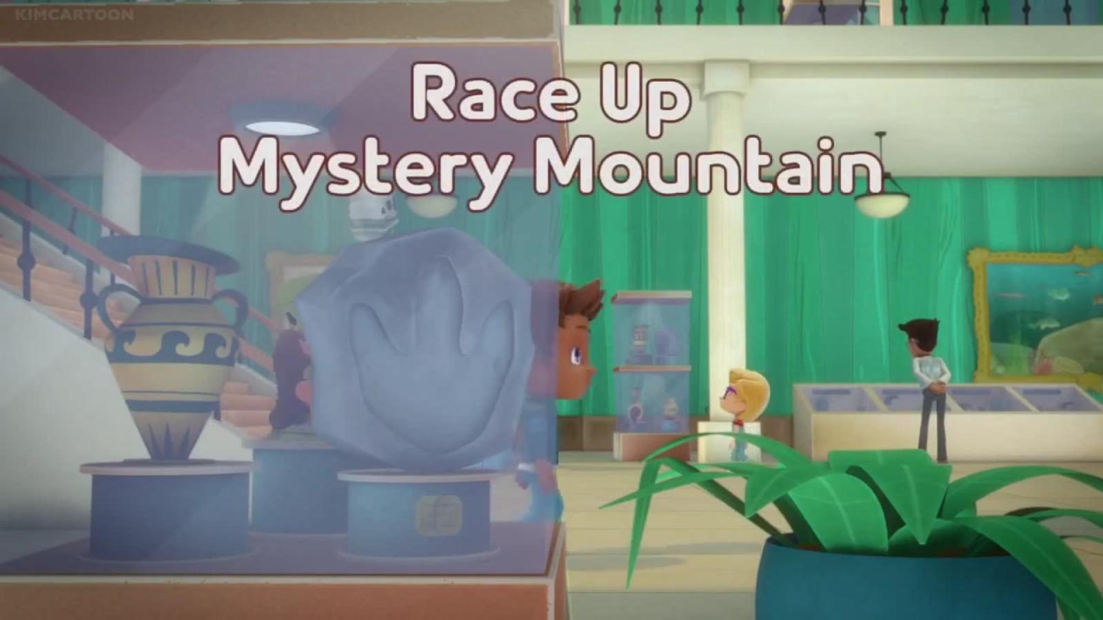Race Up Mystery Mountain