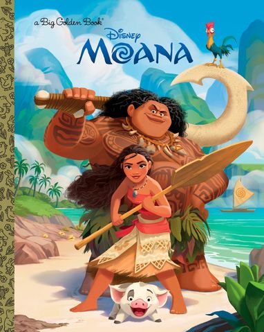 Moana (Big Golden Book)