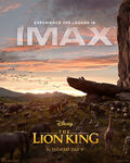 The Lion King 2019 IMAX Poster