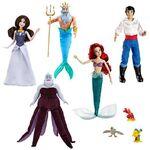 The Little Mermaid 2013 Disney Store Doll Set