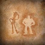 ARLO-u-SPOT Hoehlenmalerei Toy-Story