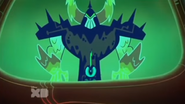 Lord dominator behind peepers