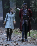 Once Upon a Time - 5x17 - Her Handsome Hero - Publicity Images - Belle & Gaston 3