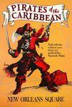 Pirates Disneyland Poster