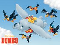 Walt Disney's Dumbo Wallpaper