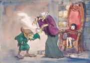 Disney's The Little Broomstick - Concept Art by Mel Shaw - 3