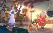 Disney Princess Belle's Story Illustraition 4