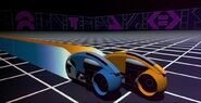 Lightcycles in Tron