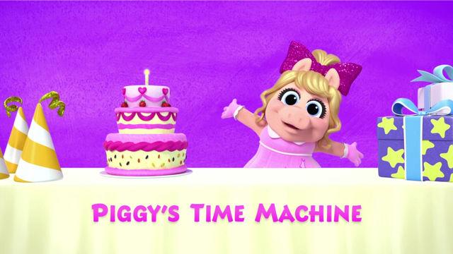 A Máquina do Tempo da Piggy