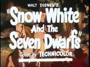 Snow White and the Seven Dwarfs - 1944 Reissue Trailer-2
