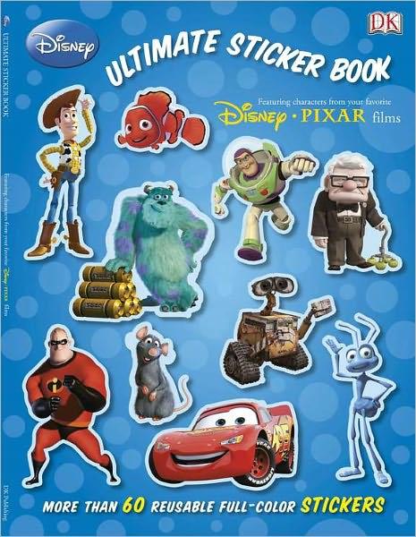 Disney-Pixar Ultimate Sticker Book