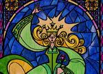 Hechicera vidriera