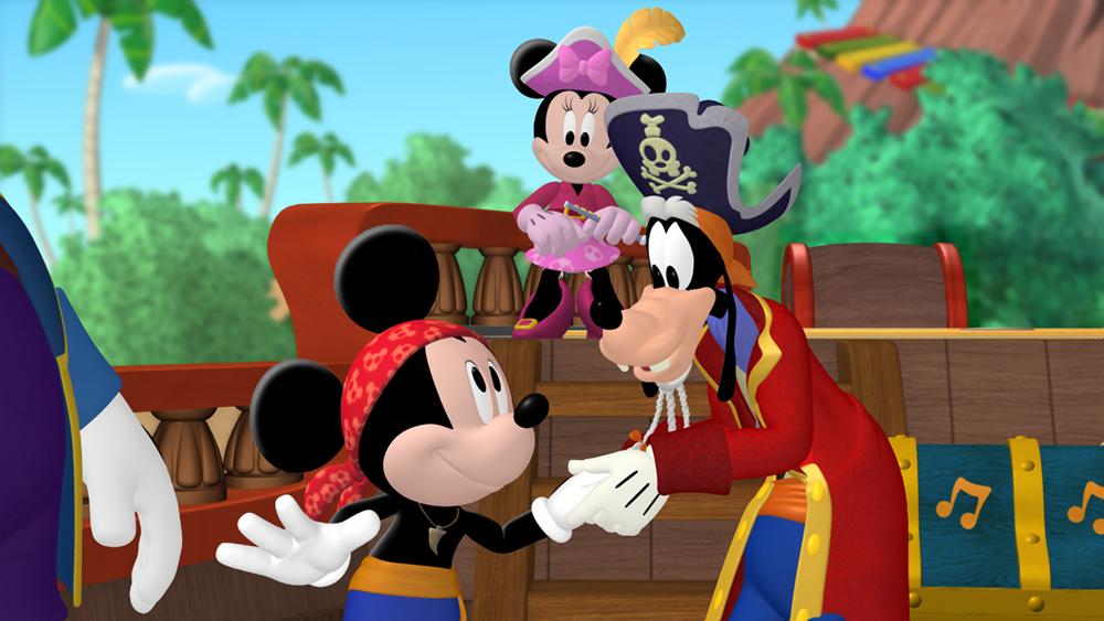 A Aventura Pirata do Mickey