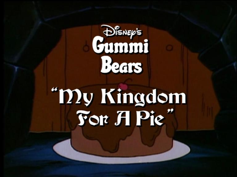 My Kingdom for a Pie
