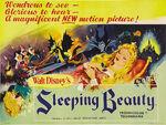 Sleeping beauty uk poster original
