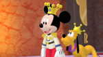 Starry-eyed Prince Mickey - Minnierella