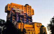The twilight Zone Tower of Terror DCA