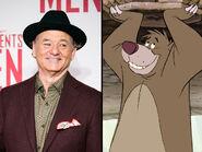 Baloo the Bear and Bill Murray