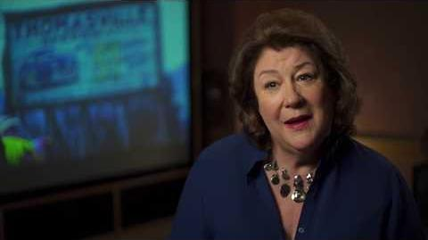 """Cars 3 """"Louise Nash"""" Margo Martindale Interview"""