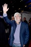 George Lucas SW Force Awakens premiere