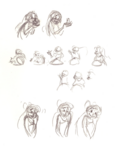 La sirenita sketchbook 012