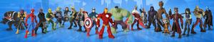 Personajes Marvel jugables introducidos en Disney INFINITY 2.0