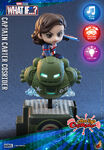 What If Cosbaby Bobble-Heads - Captain Carter Cosrider