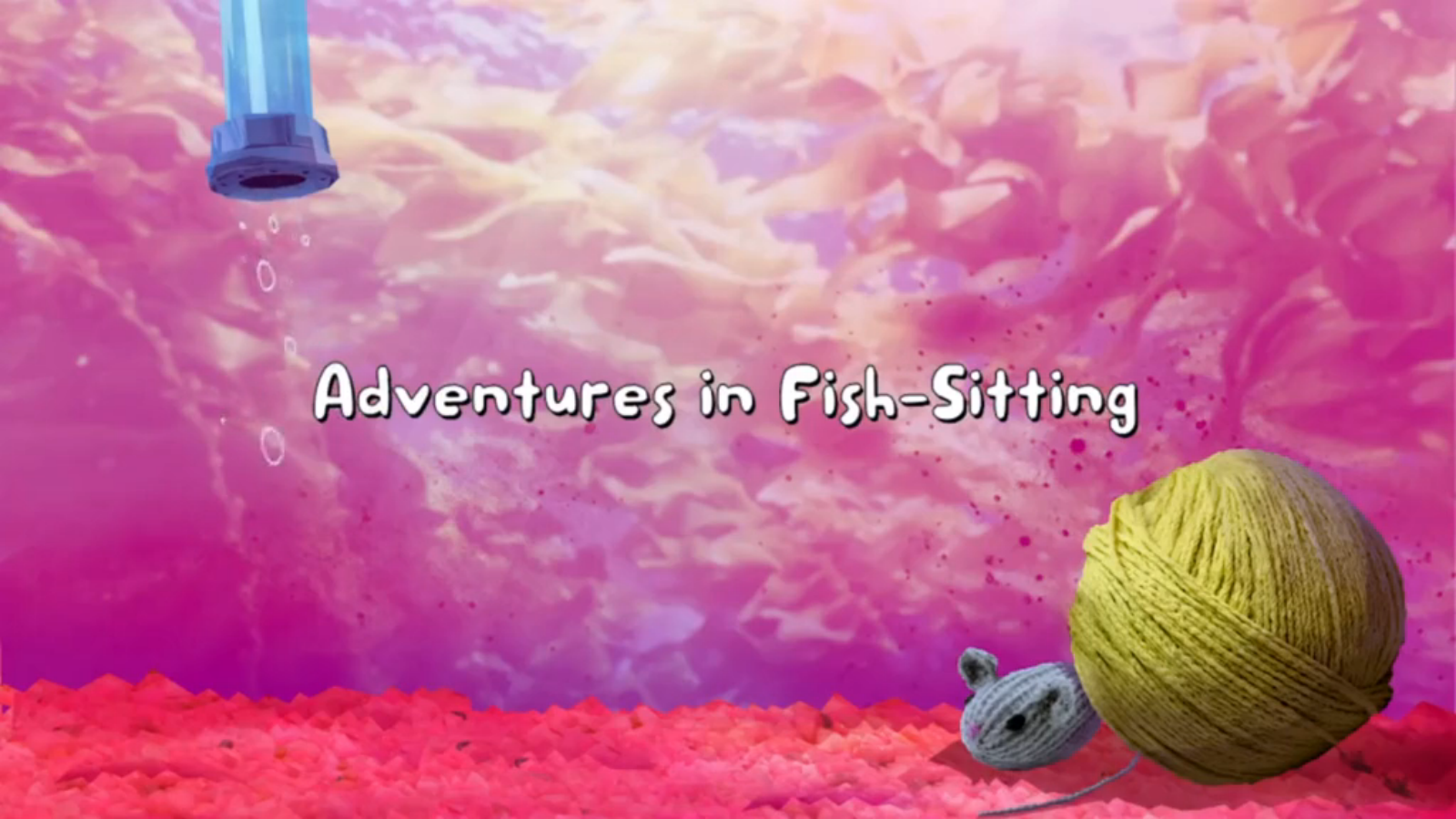 Adventures in Fish-Sitting