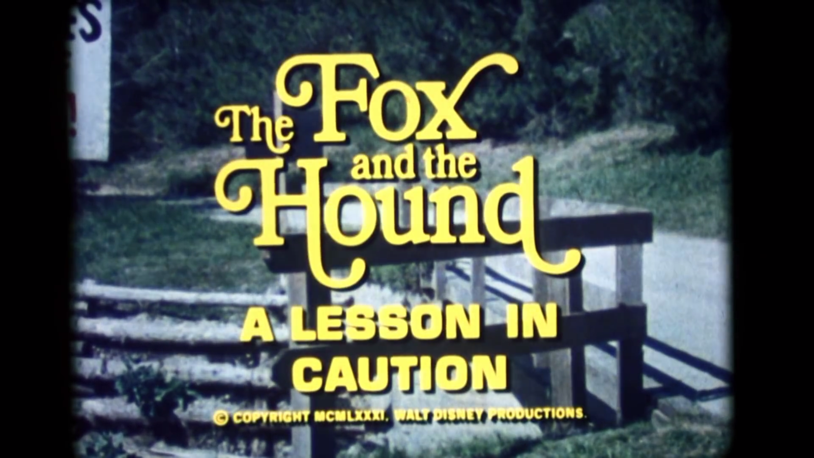 The Fox and the Hound: A Lesson in Being Careful