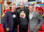 Josh Cooley, Jonas Rivera & Mark Nielsen TS4 premiere