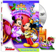 MMCH Minnie Rella DVD PopUp