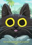 Thai Feud and Adventures in Catsitting promo by Gina Garavalia