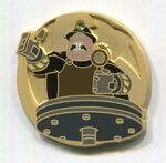 The Underminer Pin