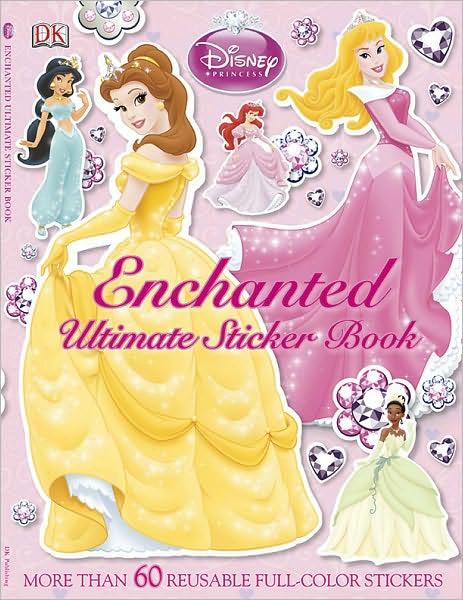 Disney Princess Enchanted Ultimate Sticker Book