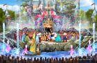 HKDL Castle-Daytime-Show