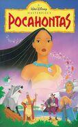 Pocahontas MasterpieceCollection VHS
