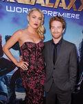Seth Green & Clare Grant GotG premiere