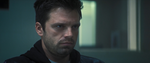 The Falcon and The Winter Soldier - 1x02 - The Star-Spangled Man - Bucky stares Sam